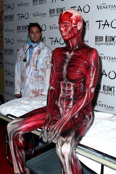 Heidi Klum gets bloody at her annual Halloween Bash