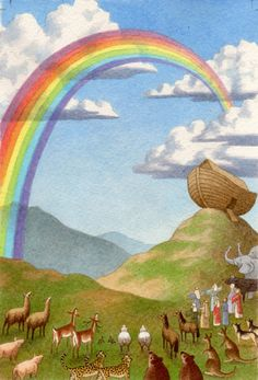Bible - Noah's Ark.   Dolores Avendano