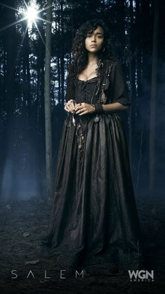 "A witch with vision, Tituba drives Mary towards the Grand Rite (Ashley Madekwe).  ""Salem"" Season 2 – Sunday, April 5 at 10/9c on WGN America."