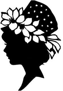 Álbum de imágenes para la inspiración | Aprender manualidades es facilisimo.com Silhouette Images, Woman Silhouette, Paper Cutting, Victorian Ladies, Silhouettes Féminines, Stencil Painting, Stencil Patterns, Digi Stamps, Paper Quilling