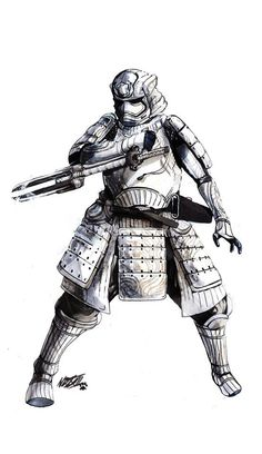 Feudal Star Wars: The Force Awakens Samurai Inspired Redesigns