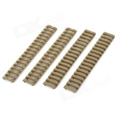 LSON Protective Plastic 21mm Rail Protector - Army Green (4 PCS) Price: $8.62