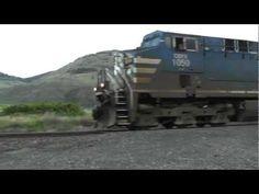 Canadian Pacific Railway at Wallachin,BC.