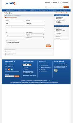 Kundenbackend des TLC Magento Onlineshop Basic.  Mehr unter: http://www.tlc-communications.de/produkte/e-commerce/onlineshop-basic.html