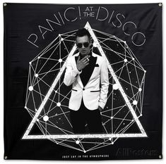 Panic! At The Disco- Photo Galaxy Flag Posters at AllPosters.com