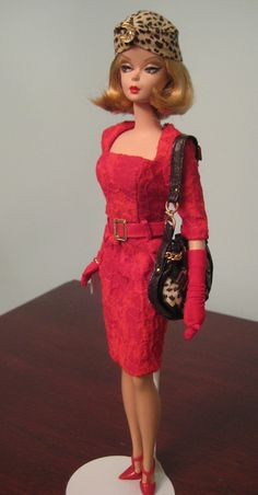 Red Hot Reviews silkstone Barbie by Lacey705 at Barbie Collector.