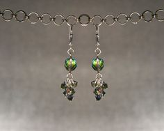 Swarovski Crystal Cluster Dangle Earrings $29.99