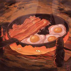 Aesthetic Ghibli Food 21