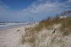 Long Beach on Oak Island, NC
