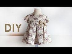 5e58d9daf Costura para bebés. Vestido Con TablonesMolde Vestido NiñaCoser  VestidoVestidos Facil De HacerVestidos ...