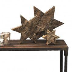 Broste Julestjerne i Træ Kobe, Firewood, Bookends, Texture, Crafts, Furniture, Christmas Stuff, Home Decor, Decorations