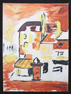 If you are expecting it to be new in the box, never touched by life or human hands, it is not for you. Cubist Paintings, Original Paintings, Paris Painting, Paris Street, Kiosk, Paris France, Folk Art, Scene, Magazine