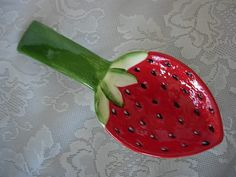 Strawberry Spoon Rest
