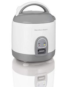 Hamilton Beach Rice Cooker with Rinser/Steam Basket, 4 Cups uncooked resulting in 8 Cups cooked, Mini, White – Online Cooking Store Specialty Appliances, Small Appliances, Kitchen Appliances, Best Rice Cooker, Cooking Bowl, Cooking Rice, Induction Heating, Steamer Recipes, Hamilton Beach