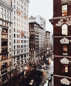city views rain