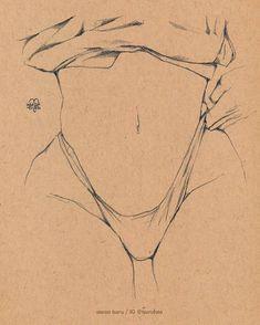 Sexy Drawings, Pencil Art Drawings, Cool Art Drawings, Art Drawings Sketches, Skull Drawings, Arte Com Grey's Anatomy, Anatomy Art, Human Anatomy, Aesthetic Drawing
