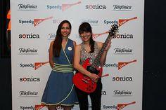 Lucía Giles.  Primer puesto del Concurso Sónica Speedy.