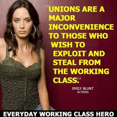 Bucknackt's Sordid Tawdry Blog: 36 Reasons Why you Should Thank Our Unions