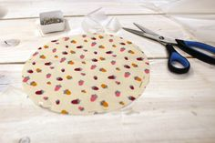 Tuto couvercle alimentaire lavable Charlotte, Wire Spool, Sewing Projects, Custom In