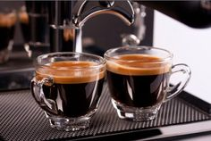 A cup of gourmet coffee shared with a friend is happiness tasted and time well spent.