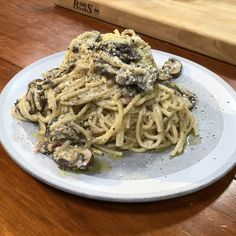 Pasta Recipes, Cooking Recipes, Stuffed Mushrooms, Stuffed Peppers, Mushroom Pasta, Shrimp Pasta, How To Cook Pasta, Pasta Dishes, Food Network Recipes