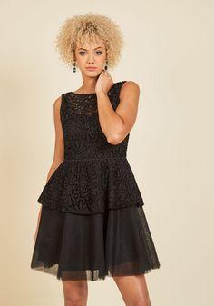 Famed to Fascinate A-Line Dress | Mod Retro Vintage Dresses | ModCloth.com