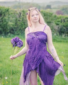 Naturally dyed cami vest top for a Fairy Skirt, Boho Festival Fashion, Bohemian Clothing, Purple Lace, Mori Girl, Pure Silk, Boho Outfits, Fairytale, Cami