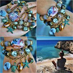 Браслеты ручной работы. Натуральные камни. Бохо стиль. Марина Никитина #handmade