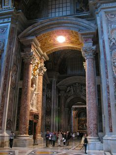 Wedding: Roman Catholic Church Ceremony at St. Roman Church, Roman Catholic, Most Beautiful Cities, Wonderful Places, Rome Florence, Church Pictures, St Peters Basilica, Sistine Chapel, Church Ceremony
