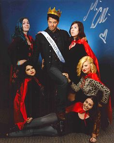 """widdermacker:  Presenting Misha Collins and The Winnermackers! A third of the team met up at PasCon (a new record amount of Widders in one place) and it ended up being quite the experience. Lion: """"Would you mind stepping on me?"""" Misha: """"I was gonna do that anyways!"""""""