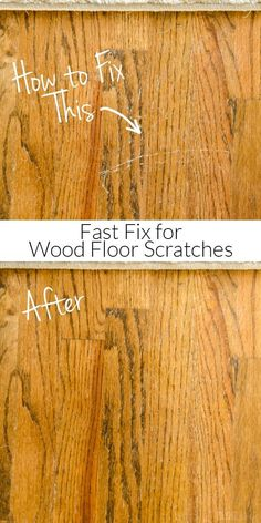 Scratches in your hardwood floors? Try this fast fix to repair your wood floors in minutes without sanding or expensive supplies!(Try Life Lifehacks) Types Of Wood Flooring, Oak Laminate Flooring, Refinishing Hardwood Floors, Flooring Ideas, Floor Refinishing, Sanding Wood Floors, Clean Hardwood Floors, Wood Stain, Tile Flooring