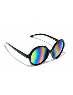 Occhiale in plexiglass con lenti specchiate