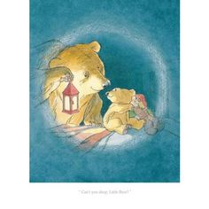 Barbara Firth - Can't You Sleep, Little Bear - limited edition Collector's Print (Martin Waddell, Can't You Sleep Little Bear?)