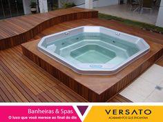 Banheira & Spas.Na Versato você encontra diversos modelos para implementar ainda mais sua casa.
