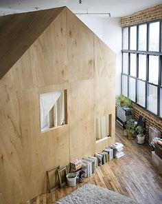 A Cabin in a Loft : asmallspace.com