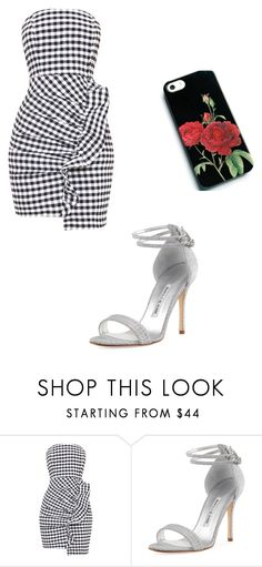 """""""Untitled #172"""" by iambeickyg on Polyvore featuring Manolo Blahnik"""