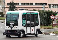 Pregopontocom Tudo: Viagem de ônibus sem motorista,é testada em Paris em tráfico misto...