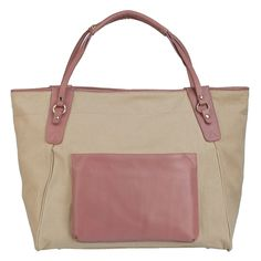 Place the secret vintage you've been saving in this roomy tote and meet him at the park by the oaks.