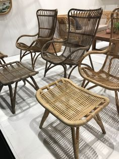 Cane and rattan lounge outdoor furniture. Cane Furniture, Rattan Furniture, Outdoor Furniture, Green Rooms, Cologne, Wicker, Design Inspiration, Lounge, Chair