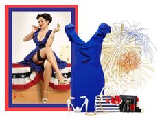 """happy 4th of July"" by nemesisktn ❤ liked on Polyvore"