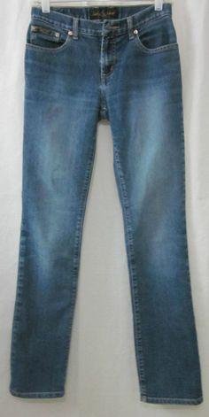 Baby Phat Jeans Size 3 Jr Straight Leg 27x31 Free Shipping #BabyPhat #StraightLeg