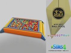 BALL POOL FOR BABYS | CE - SIMS 4 CC