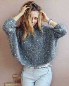 Crochet Cardigan Outfit Winter Gray New Ideas Winter Cardigan Outfit, Cardigan Outfits, Winter Outfits, Crochet Cardigan, Knit Dress, Mode Outfits, Fashion Outfits, Look Legging, Knitwear Fashion
