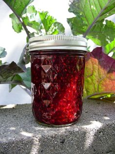 Raspberry and Pom Jam   recipe from Susan Can Cook