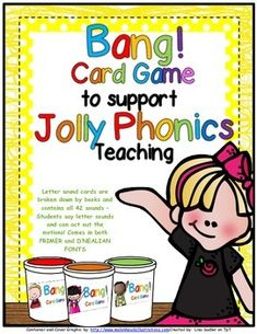 BANG! Card Game To Support Jolly Phonics Teaching
