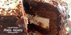 Como fazer bolo Nhá Benta recheado de marshmallow