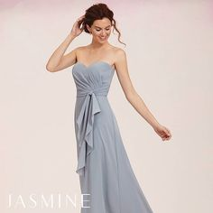 Your friends would look so fabulous in this @jasmine_bridal bridesmaids dress!