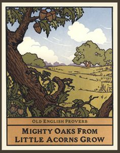 Mighty Oaks From Little Acorns Grow, Yoshiko Yamamoto, The Arts and Crafts Press