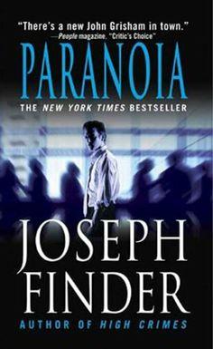 Paranoia by Joseph Finder, http://www.amazon.com/dp/B002EWUKPW/ref=cm_sw_r_pi_dp_D-Xrrb0K0Q4CN