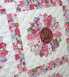 Quilting Pattern or kit: Whole Pattern Collection - Liberty Dresden Plate -  Pattern only